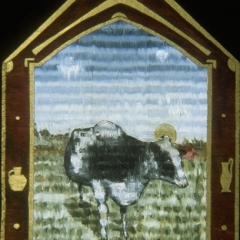 Cow-as-saint